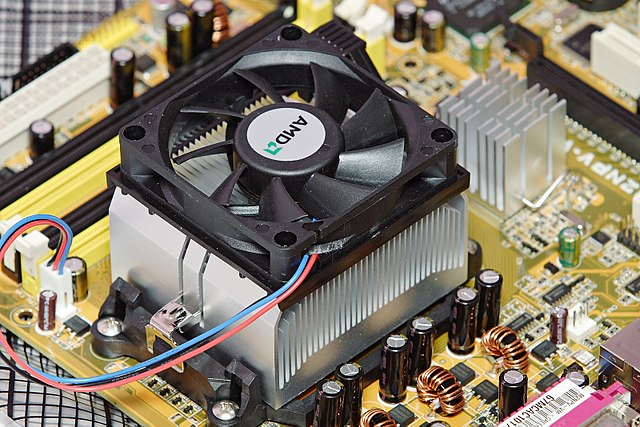 AMD heatsink and fan