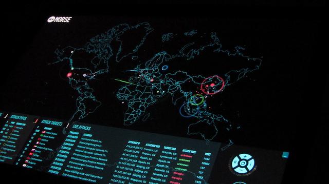 Norse cyber attack