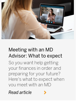 Meeting with an MD Advisor: What to expect