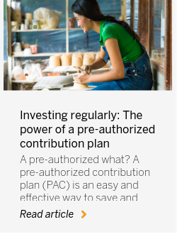 Investing regularly: The power of a pre-authorized contribution plan