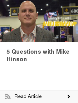 5 Questions with Mike Hinson
