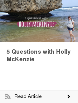 5 Questions with Holly McKenzie