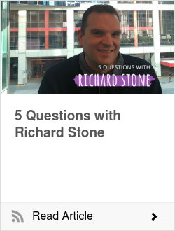 5 Questions with Richard Stone