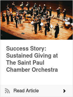 Success Story: Sustained Giving at The Saint Paul Chamber Orchestra