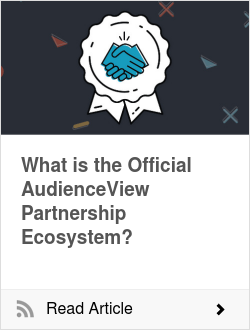 What is the Official AudienceView Partnership Ecosystem?