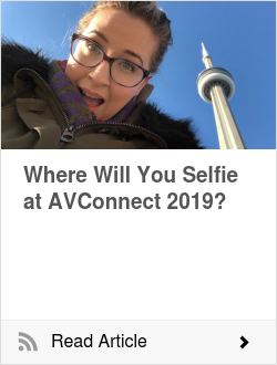 Where Will You Selfie at AVConnect 2019?