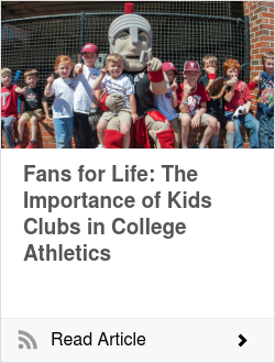 Fans for Life: The Importance of Kids Clubs in College Athletics