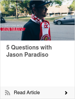 5 Questions with Jason Paradiso