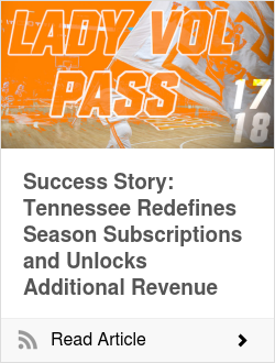Success Story: Tennessee Redefines Season Subscriptions and Unlocks Additional Revenue