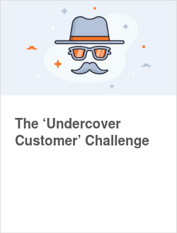 The 'Undercover Customer' Challenge