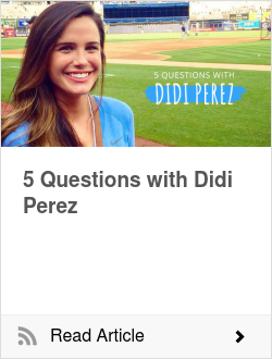 5 Questions with Didi Perez