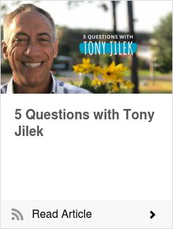 5 Questions with Tony Jilek