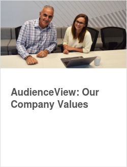 AudienceView: Our Company Values