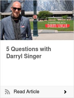 5 Questions with Darryl Singer