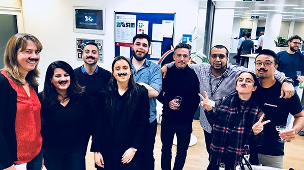 Cornerstone staff support Movember