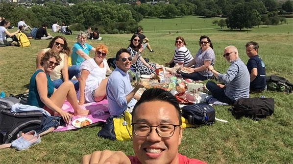 Cornerstone's Client Success Managers day out