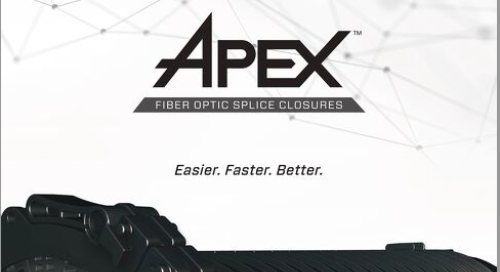 Brochure: Apex® Fiber Optic Splice Closure