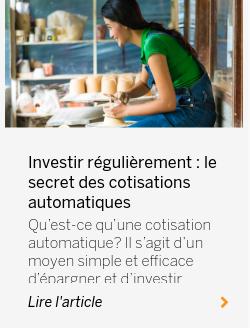 Investir régulièrement : le secret des cotisations automatiques