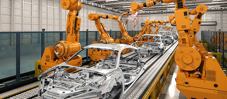 Laboratoire de véhicules en fonction de fabriqué les bases d'automobiles.