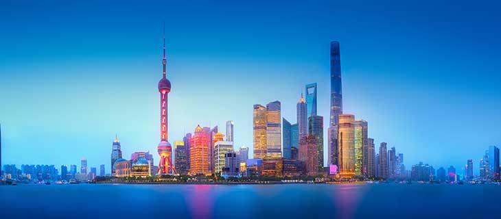 Un photo panoramique d'une ville urbaine.
