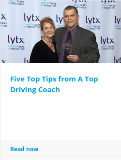 Five Top Tips from A Top Driving Coach