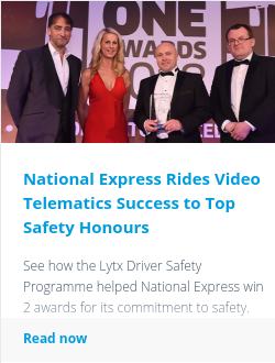 National Express Rides Video Telematics Success to Top Safety Honours