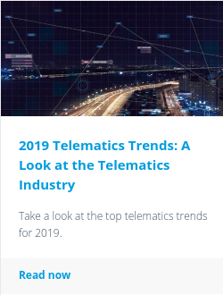 2019 Telematics Trends: A Look at the Telematics Industry