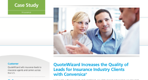 Conversica case study - QuoteWizard
