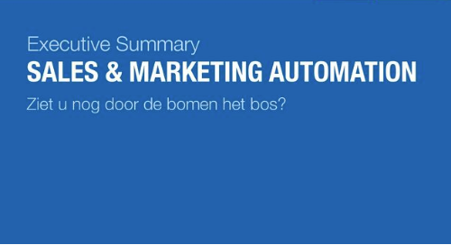 NL: sales and marketing automation