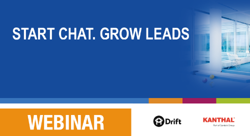 Slides: Start web chat, grow leads