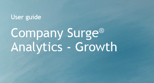 Bombora - Company Surge Analytics - User Guide - Growth