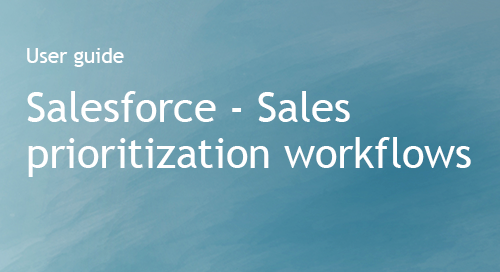 Company Surge® for Salesforce User Guide - Sales prioritization workflows