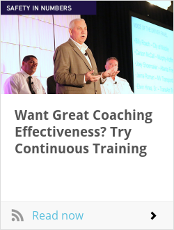 Want Great Coaching Effectiveness? Try Continuous Training