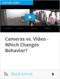 Cameras vs. Video - Which Changes Behavior?