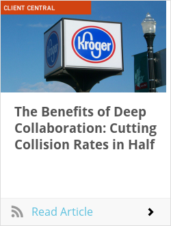 The Benefits of Deep Collaboration: Cutting Collision Rates in Half