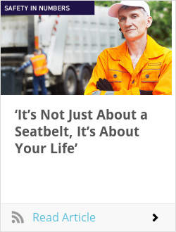 'It's Not Just About a Seatbelt, It's About Your Life'