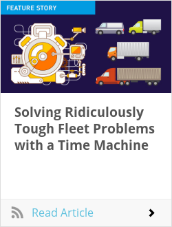 Solving Ridiculously Tough Fleet Problems with a Time Machine