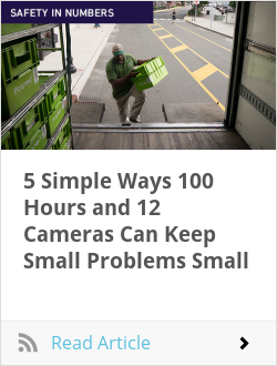 5 Simple Ways 100 Hours and 12 Cameras Can Keep Small Problems Small