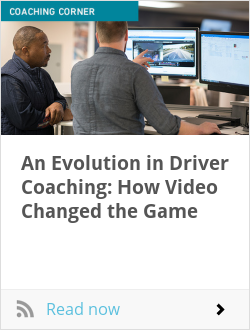 An Evolution in Driver Coaching: How Video Changed the Game