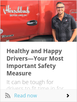 Healthy and Happy Drivers—Your Most Important Safety Measure
