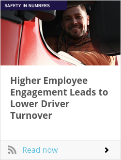 Higher Employee Engagement Leads to Lower Driver Turnover