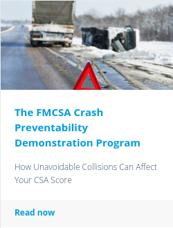 The FMCSA Crash Preventability Demonstration Program