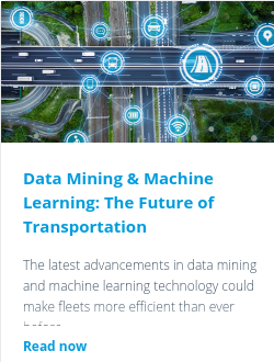 Data Mining & Machine Learning: The Future of Transportation