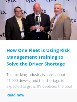 How One Fleet is Using Risk Management Training to Solve the Driver Shortage