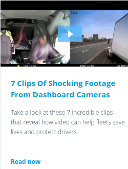7 Clips Of Shocking Footage From Dashboard Cameras