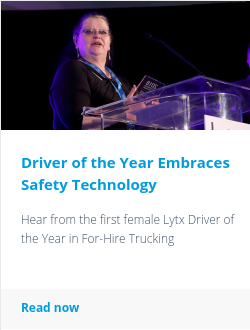 Driver of the Year Embraces Safety Technology