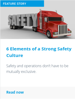 6 Elements of a Strong Safety Culture
