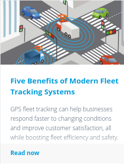Five Benefits of Modern Fleet Tracking Systems