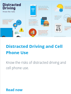 Distracted Driving and Cell Phone Use
