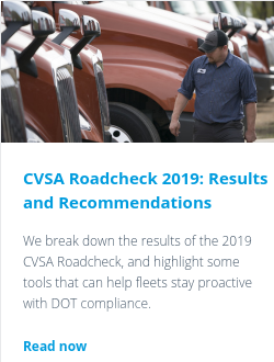 CVSA Roadcheck 2019: Results and Recommendations